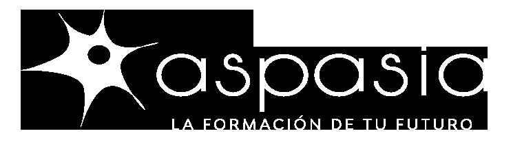 Grupo Aspasia, la formación de tu futuro, logo.